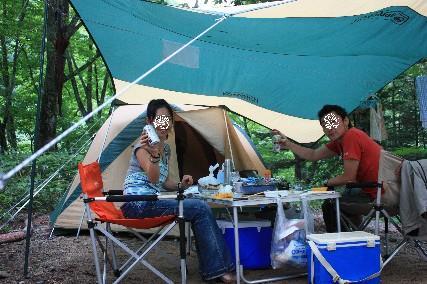 奥飛騨キャンプ乾杯3