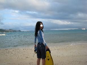 瀬底海遊び