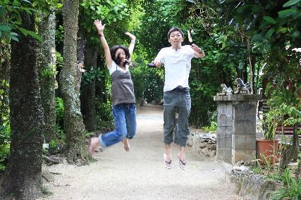 フク木並木ジャンプ