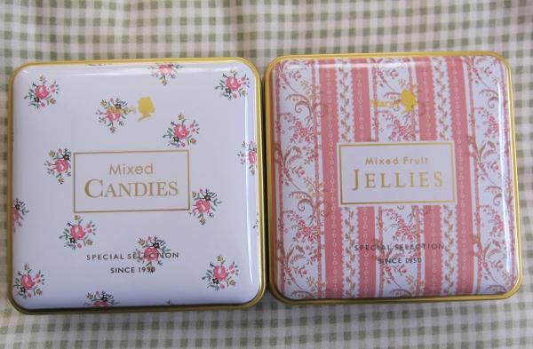 メリー ゼリー&キャンディー缶