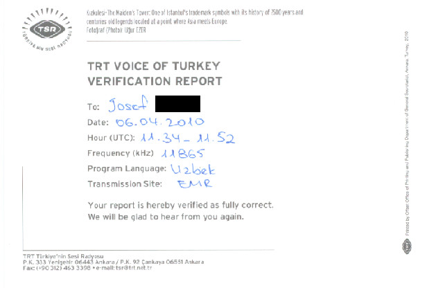 TSR TRT VOICE OF TURKEY