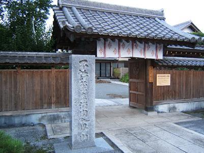 川島寺院の1