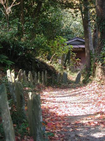 骨伝導で体感する高野倉霊場