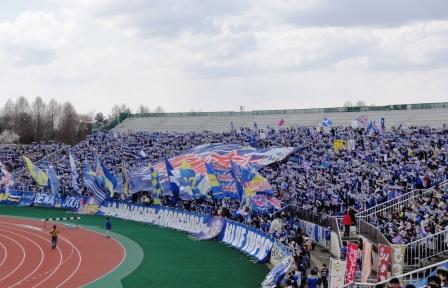 2011セレッソ戦ゴール裏