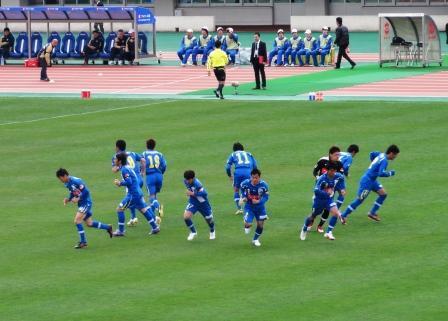 円陣ダッシュ2011.4.24