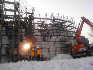 雪まつり制作