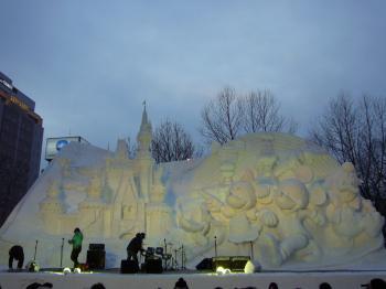 雪まつり(ディズニー1)
