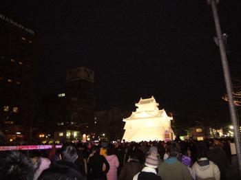 雪まつり(浜松城1)