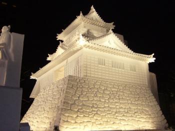 雪まつり(浜松城2)