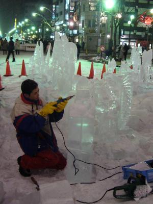 氷(仕上げ)