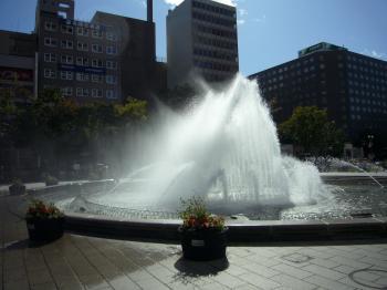 大通公園噴水