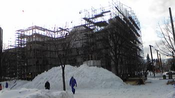 雪まつり準備1