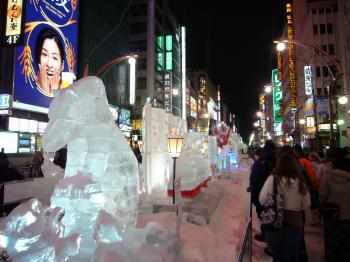 すすきの氷の祭典3