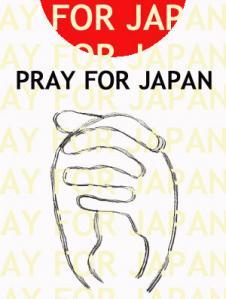 pray for japan  祈り momosoさん