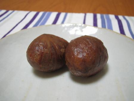 栗の渋皮煮1