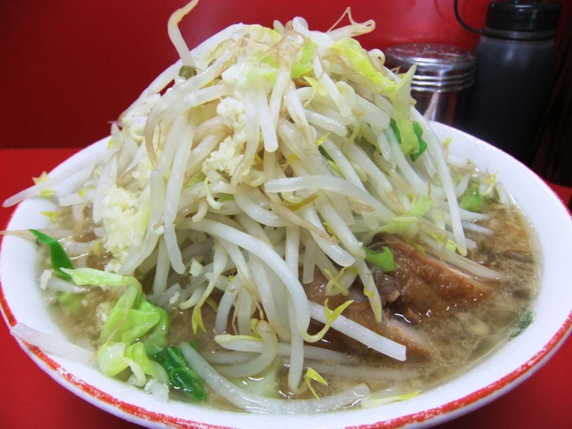 ラーメン二郎 京急川崎店:小豚(ヤサイマシマシニンニク) 11.02.24