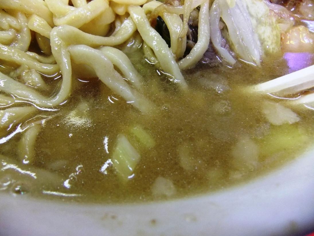 ラーメン二郎 三田本店:スープ 11.02.26
