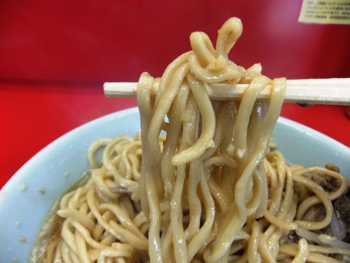 ラーメン二郎 中山駅前店:麺2 11.03.13