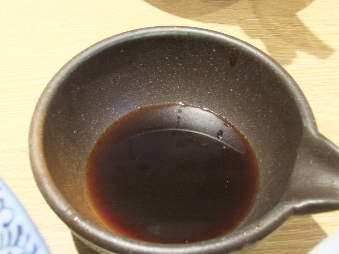 麺屋 一燈:かえし 11.07.09
