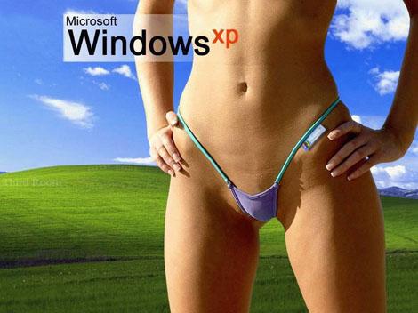 Windows XP on the Sexy Desk Top