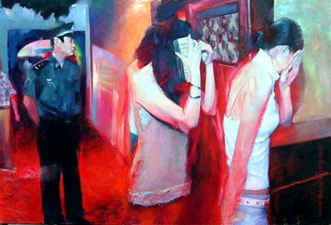 風俗的Paint Artist - Zhang Haiying