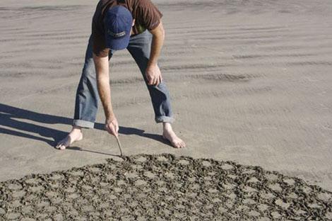 砂アート - Jim Denevan