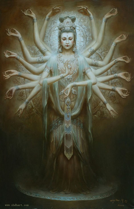 菩薩アート - Zeng Hao