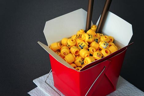 中国FoodなLEGO