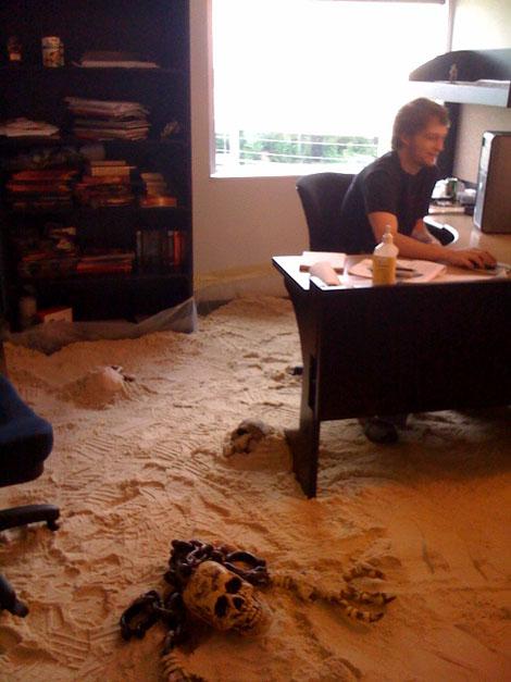 砂のオフィス
