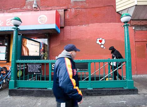 思考の泡 in Brooklyn