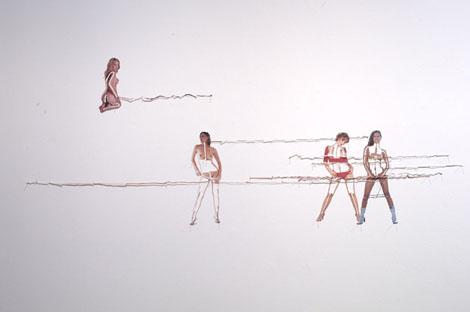 紙の切り抜きアート - Mathias Schmied