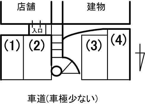 hagi駐車場見取り図