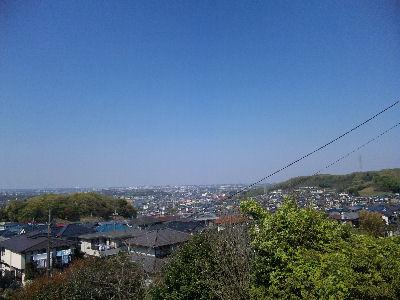 平山の展望