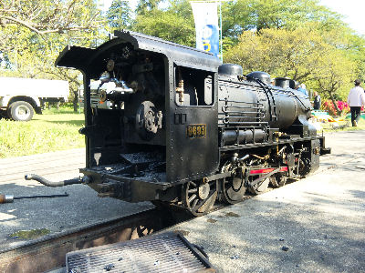 アフターメンテ中の国鉄のキューロク