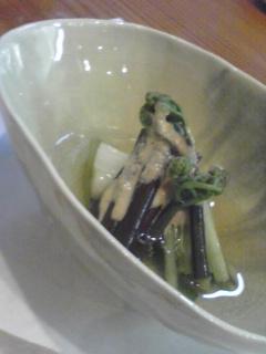 春野菜おひたし