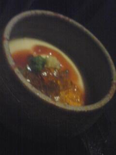 シジミ冷製茶碗蒸し