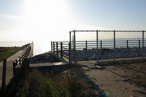 茜浜緑地 ポタリング GATE