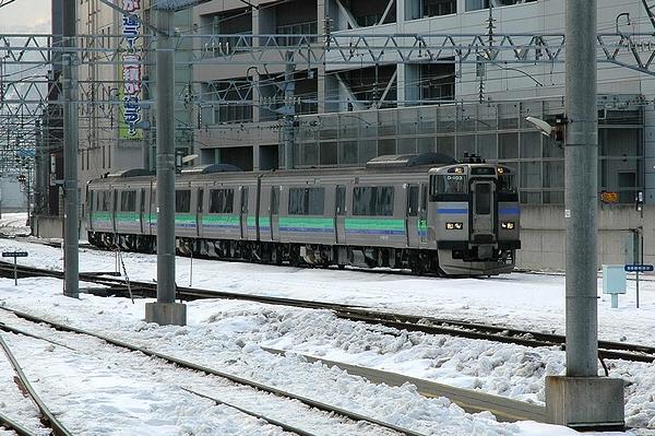キハ201系@札幌駅