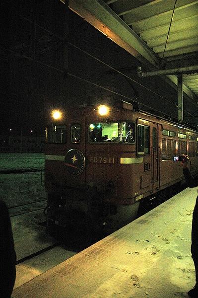 青函トンネルはこいつが担当@函館駅