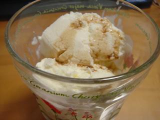 ゴディバのチョコレートリキュール掛けアイス(≧▽≦)♪