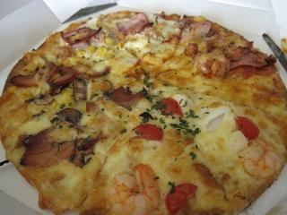 ピザだ~(≧▽≦)♪