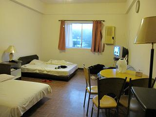 広い部屋&ベッド
