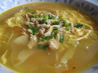 トゥクパ(ネパール風ラーメン)