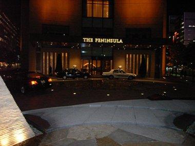 ペニンスラ入口