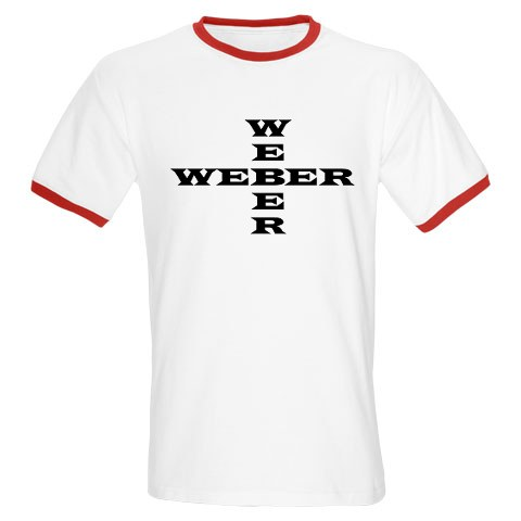weber cross shirt