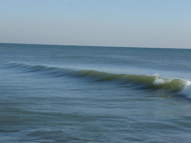 すばらしい波