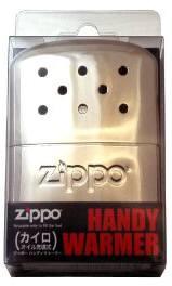 Zippo ハンディーウォーマー フリース付 繰り返し使える化学カイロ
