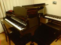 グランドピアノ、欲しいねえ。