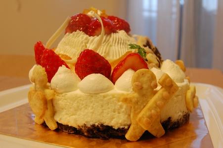 ゆづちゃんケーキ横