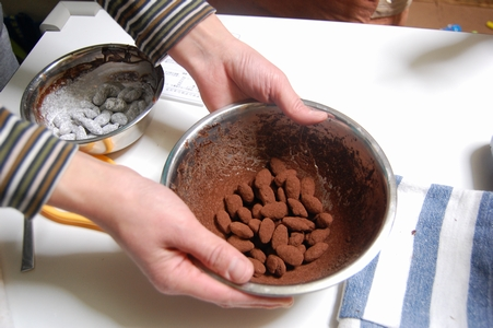 アマンドショコラ作り